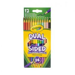 Oboustranné pastelky 12ks Crayola