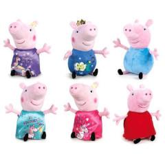 Peppa Pig - Pepina/George plyšoví 26cm 0m+