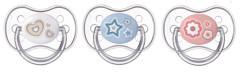 Šidítko 0-6m silikonové symetrické Newborn Baby