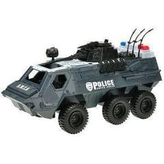 Policejní transportér 32 cm na setrvačník se světlem a zvukem