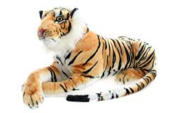 Plyšový tygr hnědý 70 cm