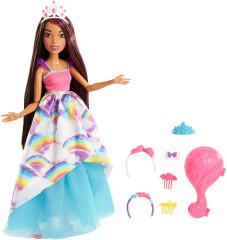 Barbie vysoká dlouhovláska brunetka