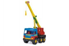 Auto middle Truck  jeřáb plast 36cm Wader