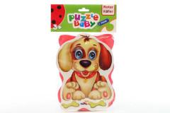 Baby pěnové puzzle kočka - pes