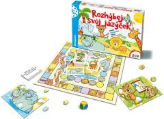 Rozhýbej svůj jazýček aneb logopedie hrou společenská hra v krabici