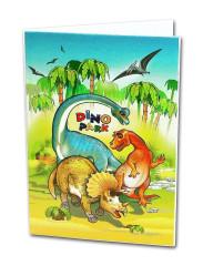 Desky na abecedu Dinopark Emipo
