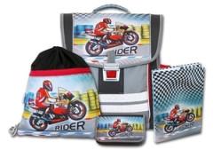 Školní aktovkový set Rider 4-dílný Emipo