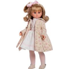 Luxusní dětská panenka-holčička Berbesa Flora 42cm
