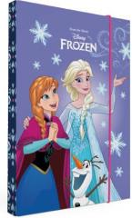 Heft box A4 Frozen III. fialový