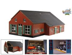 Dřevěný domeček a farma 1:32