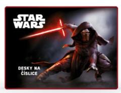 Desky na číslice Star Wars