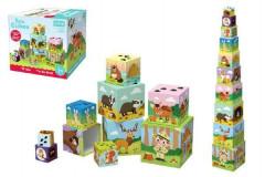 Kostky kubus V lese 10 ks