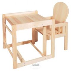 Dřevěná židlička Scarlett kombi masiv borovice