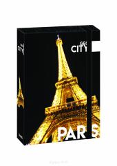 Box na sešity A4 Jumbo GEO CITY Paris