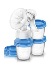 Odsávačka mateřského mléka + VIA systém Avent