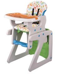 Jídelní židlička Moby system LUNA 2v1 GREY