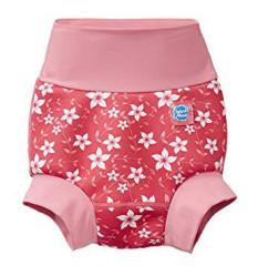 Nové Plavky Happy Nappy - růžové květy