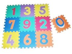 Pěnové puzzle podložka 32cm - čísla