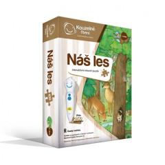Interaktivní puzzle Náš les - Kouzelné čtení