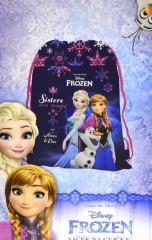 Sáček (nejen) na cvičky Frozen - Ledové království