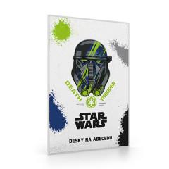 Desky na abecedu Star Wars NEW 2017 bílé