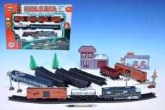 Vlak + 5 vagónů + doplňky délka dráhy 403cm