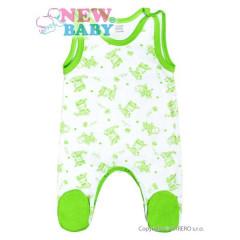 Kojenecké dupačky New Baby Zebrababy II zelené