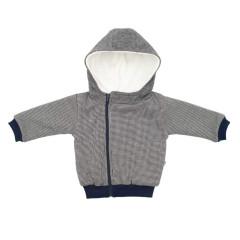 Podšitý kabátek s kapucí Baby Service
