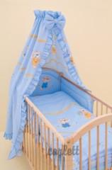 Dětské povlečení 2dílné Jiřík modrá 120 x 90 cm