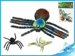Sada pavouků 28 cm pískací 2ks pavouk 9cm
