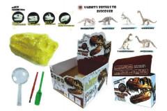 Sada archeolog Dinosaurus svítící ve tmě asst v krabičce 12x8x4cm