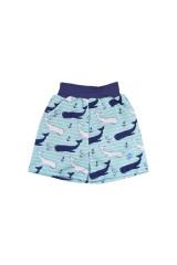 Dětské plavky Happy Nappy šortky - vzor Velryba
