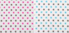 Ochranný límec mantinel  (100% bavlna + molitan) Hvězdičky
