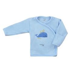 Kojenecká bavlněná košilka Koala Happy Baby modrá