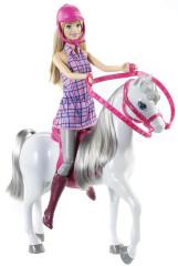 Barbie panenka s koňem
