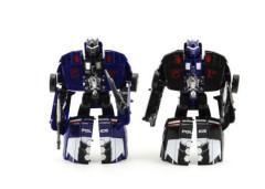 Auto robot/transformer policie s doplňky 16cm