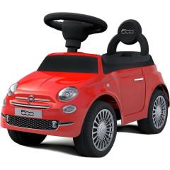 Odrážedlo Baby Mix FIAT 500 červené