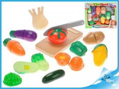 Sada krájecí zeleniny s deskou a nožem 20ks v krabičce