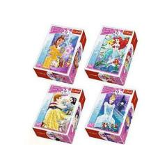 Minipuzzle Disney Princezny 54ks