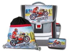 Školní aktovkový set Rider 3-dílný Emipo