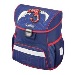 Školní batoh Loop Drak červený Herlitz ccea12f92a