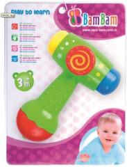 Hudební hračka kladívko BAM BAM