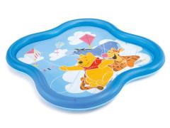Bazén dětský Medvídek Pú se sprškou 58433 Intex