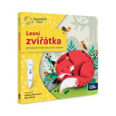 Kouzelné čtení Minikniha pro nejmenší - Lesní zvířátka