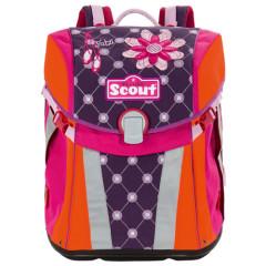 Školní batoh Scout - Balerínky a květiny