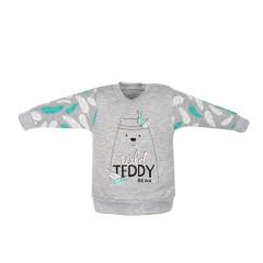 Kojenecká bavlněná mikinka New Baby Wild Teddy