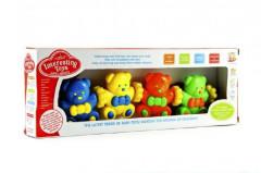 Baby řetěz medvídci plast v krabici