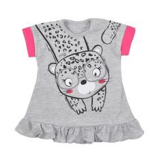 Kojenecké letní šaty Koala Sara šedé