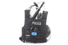 Sada s policejní vestou