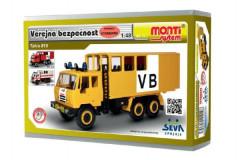 Stavebnice Monti 12.1 Tatra 815 VB Veřejná bezpečnost 1:48